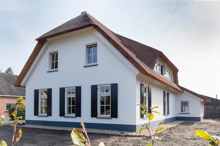 Nieuwbouw landelijk woonhuis