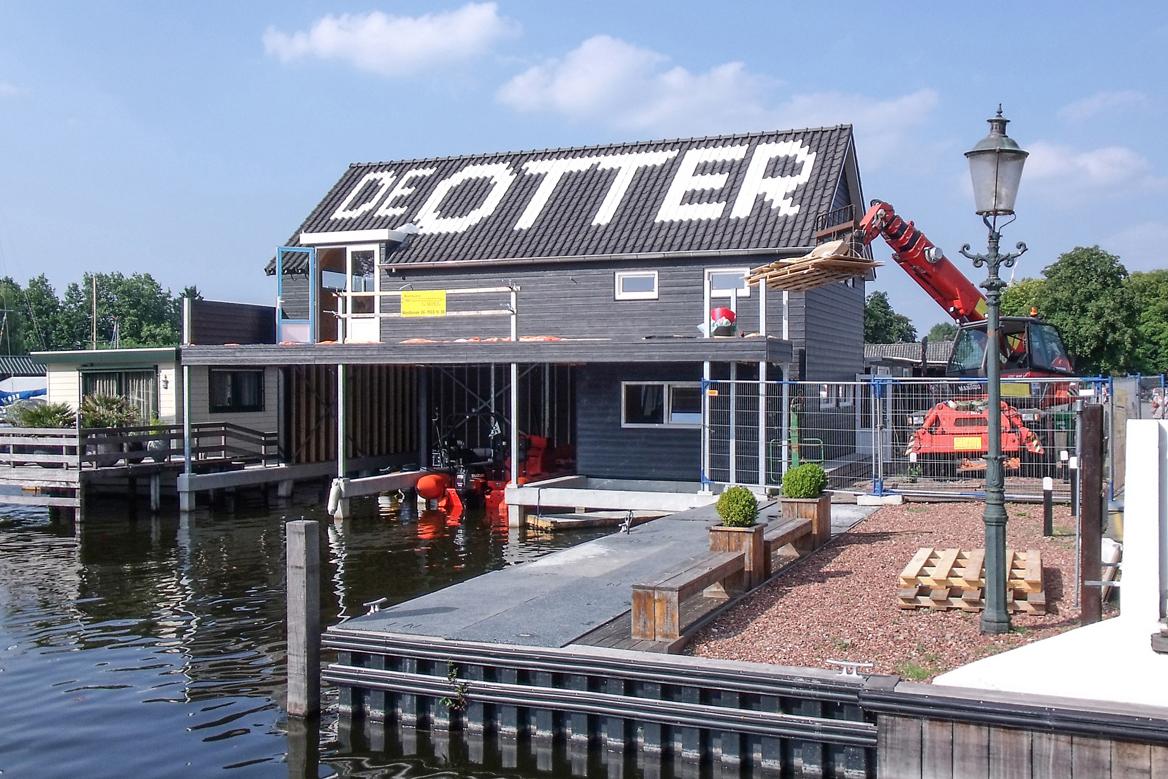 Nieuwbouw boothuis